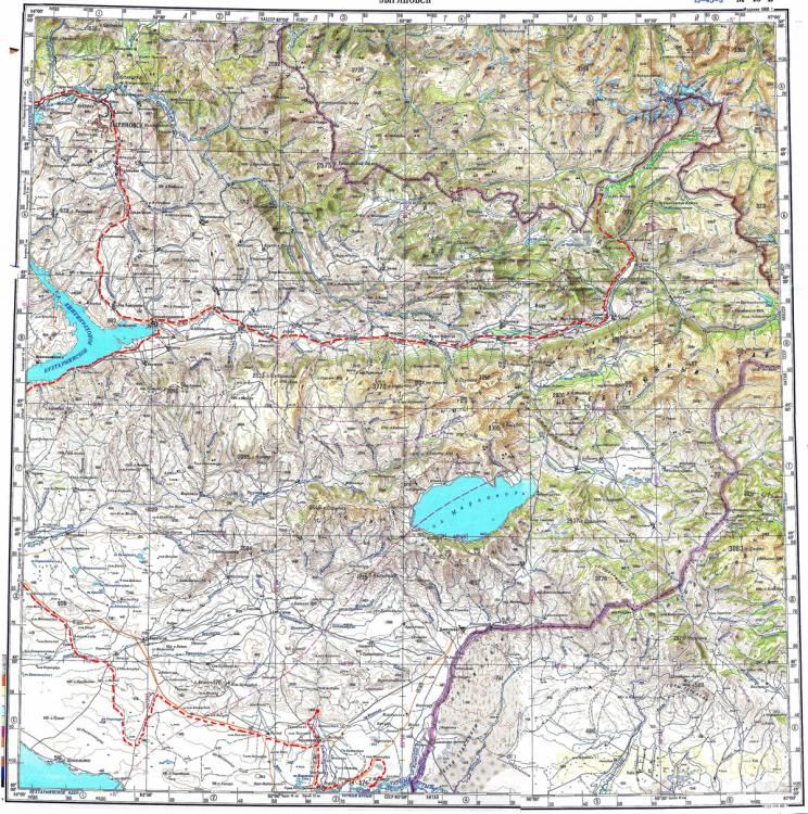 Бухтарминское Водохранилище Подробная Карта.Rar